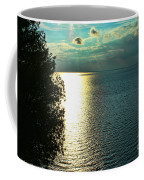 Sunset On The Bay Of Green Bay Wi Coffee Mug