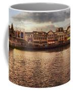 Sunset On The Boardwalk Walt Disney World Coffee Mug