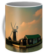 Sunset On The Broads Coffee Mug