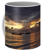 Sunset On The Coast Coffee Mug