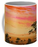 Sunset On The Coast Coffee Mug by James Williamson