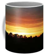 Sunset On The Edge Of Town Coffee Mug