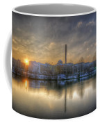 Sunset On The Esifabrik Coffee Mug by Nathan Wright