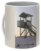 Sunset On The Gaurd Shack Coffee Mug