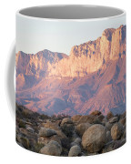 Sunset On The Guadalupe Mountains Coffee Mug