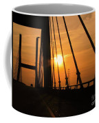 Sunset On The High Rise Coffee Mug