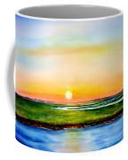 Sunset On The Marsh Coffee Mug
