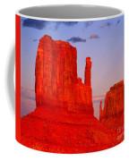 Sunset On The Mittens Coffee Mug