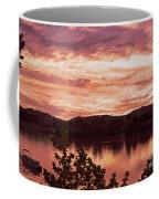 Sunset On The Ohio River  Coffee Mug