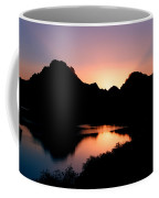 Sunset On The Oxbow Coffee Mug