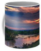 Sunset On The Payette  River Coffee Mug by Robert Bales