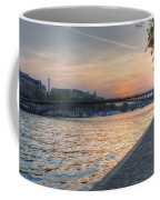 Sunset On The Seine Coffee Mug