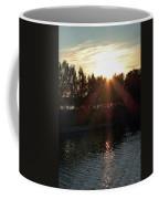 Sunset On The Volga River Coffee Mug