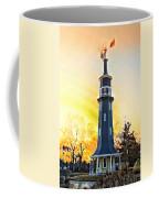 Sunset On The Windmill Coffee Mug