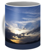 Sunset On Uyuni Salt Flats Coffee Mug
