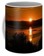 Sunset On Winnesheik Coffee Mug