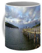 Sunset Over Bar Harbor Coffee Mug