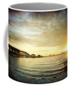 Sunset Over Biloxi Bay Coffee Mug