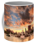 Sunset Over Buckingham Fountain Coffee Mug