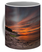 Sunset Over Buzzards Bay Coffee Mug