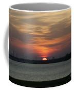 Sunset Over Charleston Harbor Coffee Mug