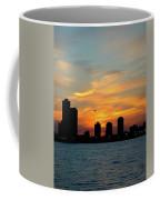 Sunset Over Chicago 0349 Coffee Mug