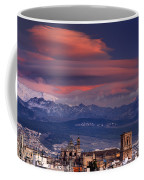 Sunset Over Granada And The Cathedral Coffee Mug