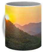 Sunset Over Hills Coffee Mug