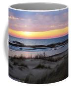 Sunset Over Ice Coffee Mug