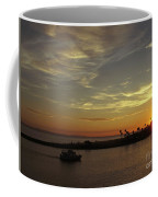 Sunset Over Jetty Point Coffee Mug