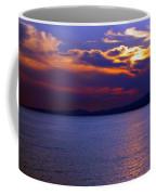 Sunset Over Korcula Coffee Mug
