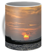 Sunset Over Lake Como Coffee Mug