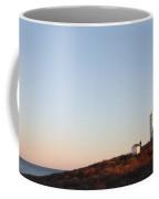 Sunset Over Montauk Lighthouse Coffee Mug