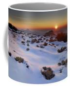 sunset over National park Sierra Nevada Coffee Mug