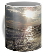 Sunset Over Nj After Fishing Coffee Mug