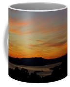 Sunset Over San Francisco Bay And Mount Tamalpais Coffee Mug