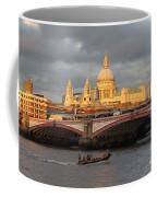 Sunset Over St Pauls Cathedral London Coffee Mug