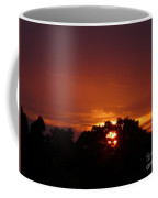 Sunset Over Sutton Surrey Coffee Mug