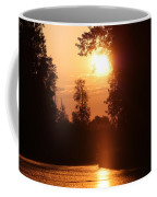 Sunset Over The Canals Coffee Mug