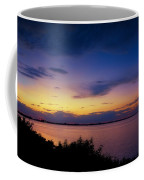 Sunset Over The Causeway Coffee Mug