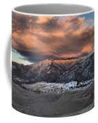 Sunset Over The Dunes Coffee Mug