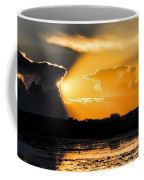 Sunset Over The Mead Wildlife Area Coffee Mug
