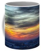 Sunset Over The Metro Coffee Mug