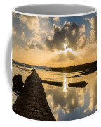 Sunset Over The Ocean I Coffee Mug