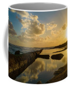 Sunset Over The Ocean II Coffee Mug by Marco Oliveira