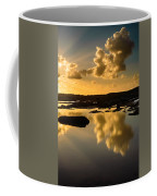 Sunset Over The Ocean V Coffee Mug by Marco Oliveira
