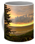 Sunset Over The Pacific Ocean Coffee Mug