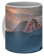 Sunset Over The Tantalus Mountains In Squamish Coffee Mug