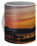 Sunset Over The Wando River Coffee Mug