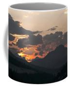 Sunset Panorama Banff National Park Coffee Mug